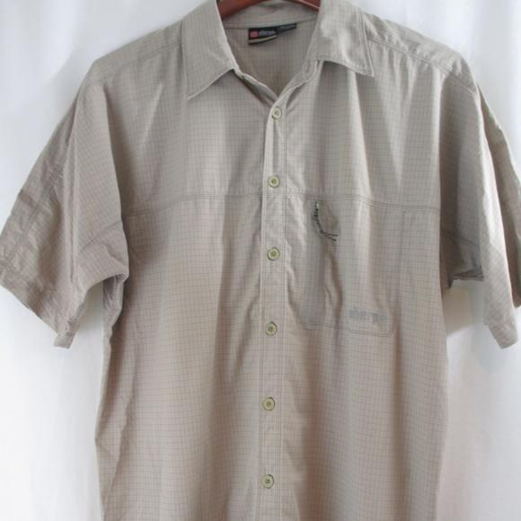 Ralph Lauren Seersucker Shirt Navy Button-Front with Chest Pocket M L NWT